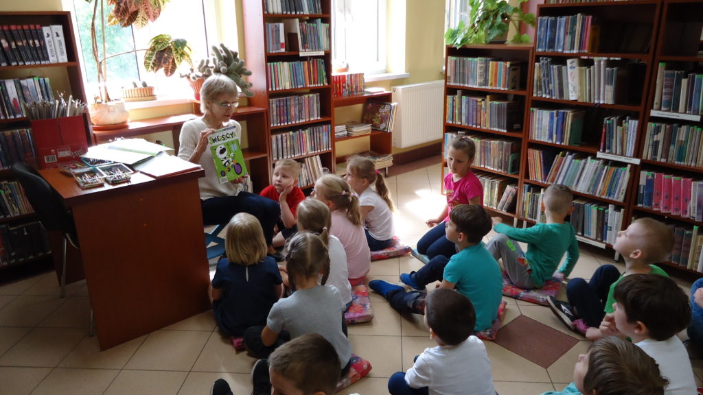 Biedronki w Bibliotece dla dzieci i młodzieży