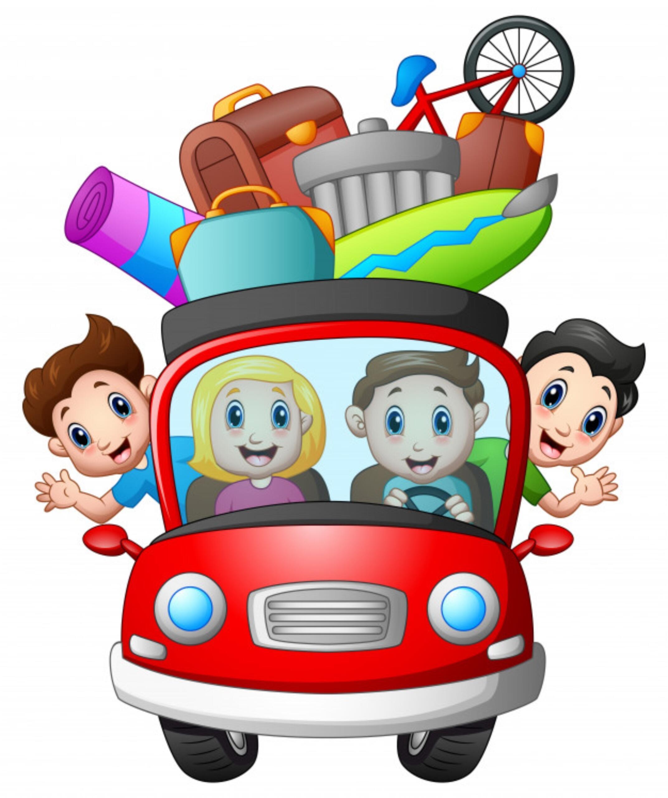 Wakacyjna podróż 🚞✈️🚌